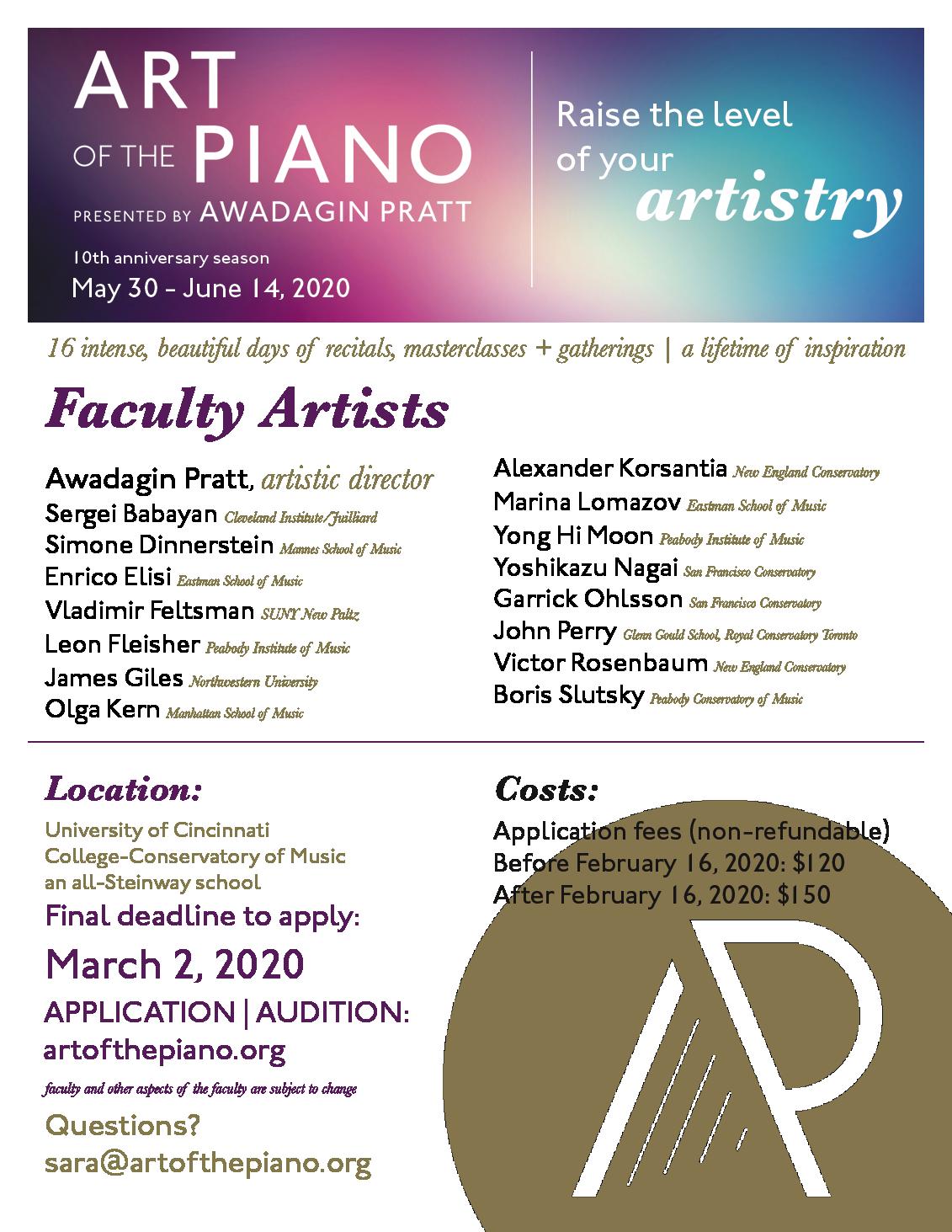 International Piano Festivals